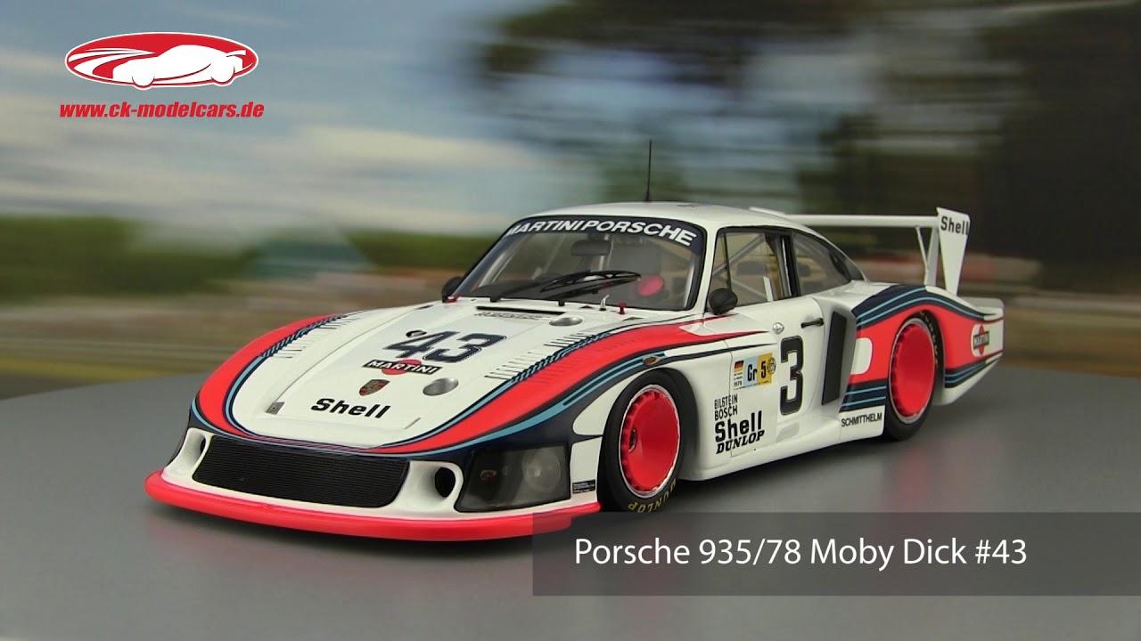 24h Le Mans Stommelen//Schurti 1:12 CMR Porsche 935//78 Moby Dick #43
