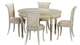 видео Деревянные столы с прямоугольной и круглой столешницей: выгодные цены