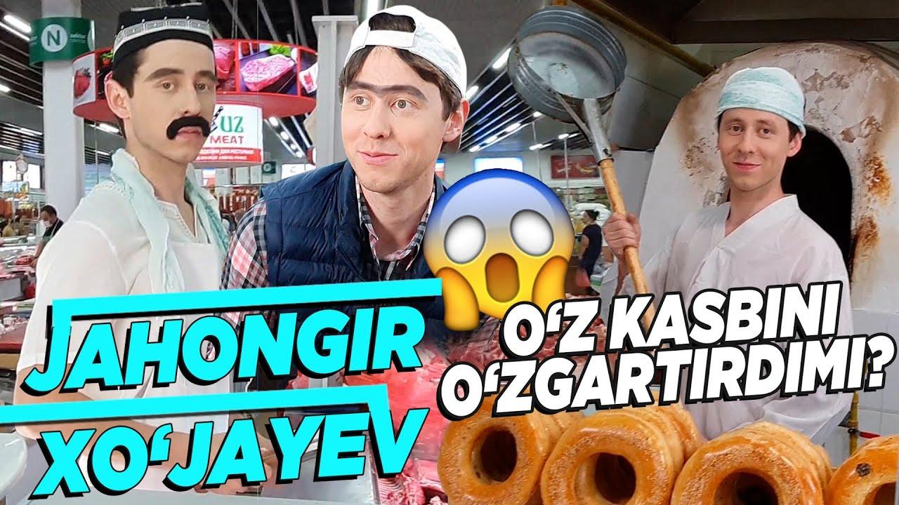 Jahongir Xo'jayev Karantinda O'z Kasbini O'zgartirdimi😱😱😱