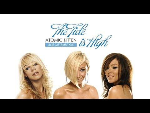 Atomic Kitten - The Tide is High | Line Distribution