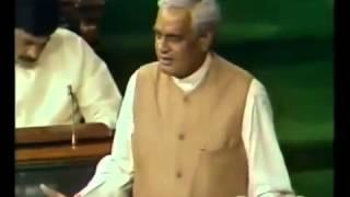 Atal Bihari Vajpayee's Best Speech