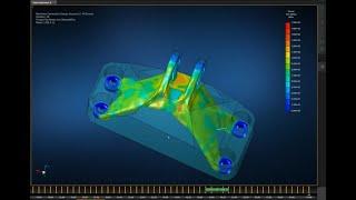 Топологическая оптимизация кронштейна. Аддитивные технологии для металлов. Часть 1