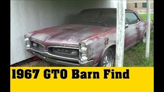 1967 GTO Barnfind Restoration Part 1