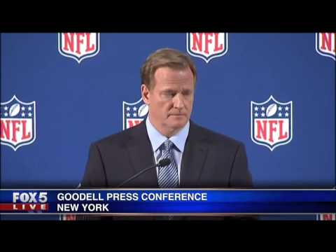 Roger Goodell NFL Press Conference