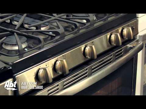 GE 30 Inch Stainless Steel Gas Range - JGB695SEFSS Overview
