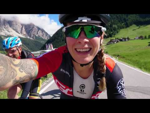 Climb till you drop! Crazy elevation at Maratona Dles Dolomites with Pirelli