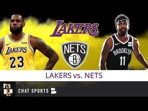 Lakers Vs Nets Live Streaming Scoreboard Live Chat Lakers Preseason Schedule