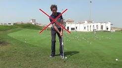 """Golf - """"Wie spiele ich, sicher zur Fahne?"""" - Der Chip"""