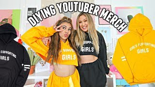 Buying YouTuber Merch and DIYing It With LaurDIY! #GirlsSupportingGirls