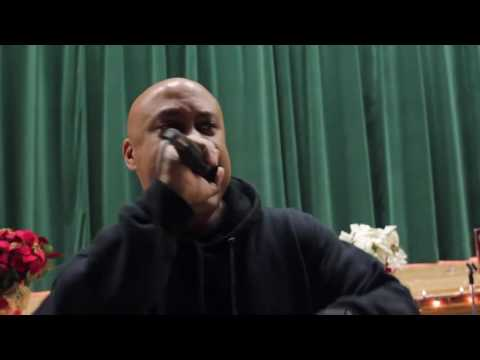 A Man Named King Live performance at Hebbville Elementary School
