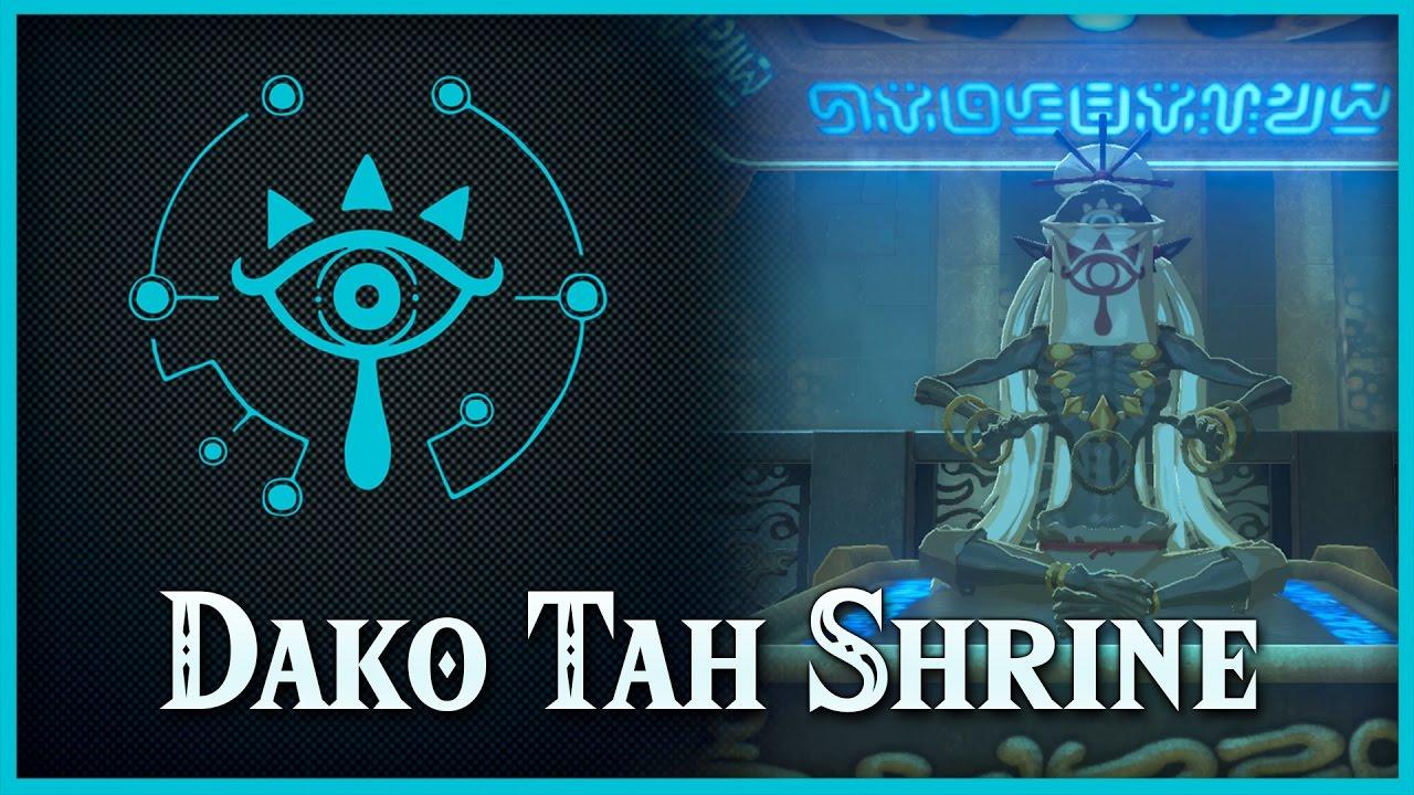Zelda Breath Of The Wild The Eye Of The Sandstorm Dako Tah