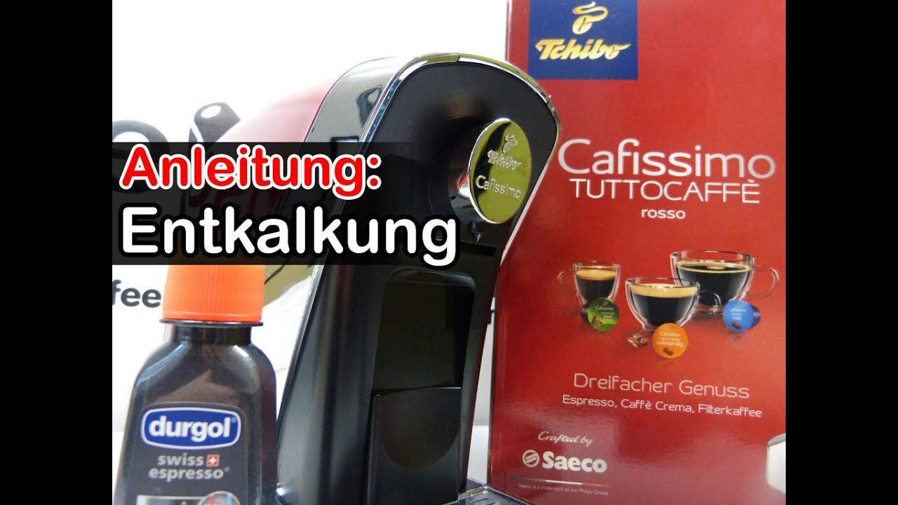48eb8f2146959f Anleitung: Entkalkung Cafissimo Tuttocaffé Kapselmaschine [descaling - how  to]