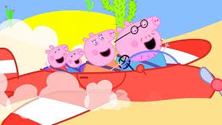 Peppa Pig Official Channel   Peppa Pig Flies to the Dessert