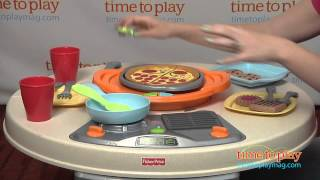 Servin' Surprises Cook N Serve Kitchen & Table From Fisher-price