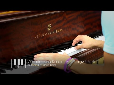 Variations on Kanon by George Winston | Steinway Model A-3 Grand Piano