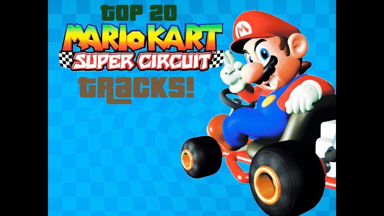 top 20 mario kart super circuit tracks part 3 gba youtube. Black Bedroom Furniture Sets. Home Design Ideas