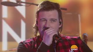 Watch Morgan Wallen sing 'Whiskey Glasses' live