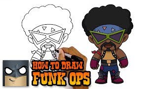 How to Draw Funk Ops | Fortnite | Awesome Step-by-Step Tutorial