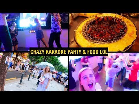 KOREAN BBQ & KARAOKE PARTY IN SEOUL | Korea Joa VLOG #5