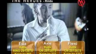 The HEROES - Rindu ( NSP & Logo )