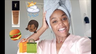 DAY IN MY LIFE VLOG + FOUNDATION WEAR TEST | Ellarie