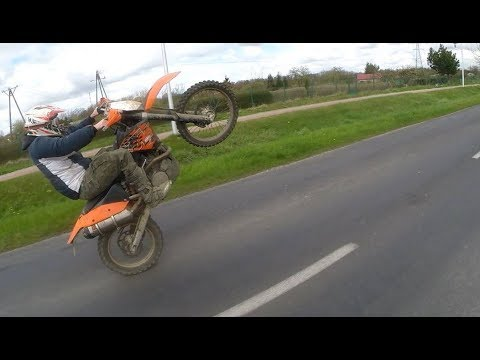 ENDURO HORROR MOVIE | fails/hillclimb/mud/wheelie/fun