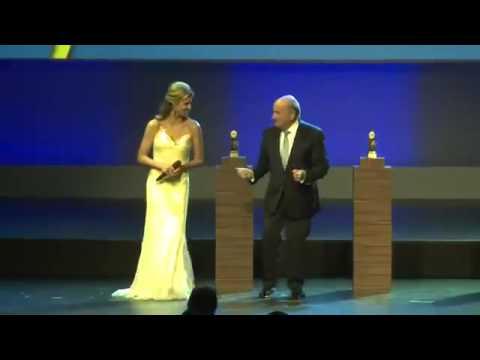 Sepp Blatter Dancing Fernanda Lima WORLD CUP PARTY