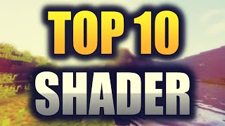MINECRAFT TOP 10 SHADER 1.8 | SHADER PACK DOWNLOAD | Chrom