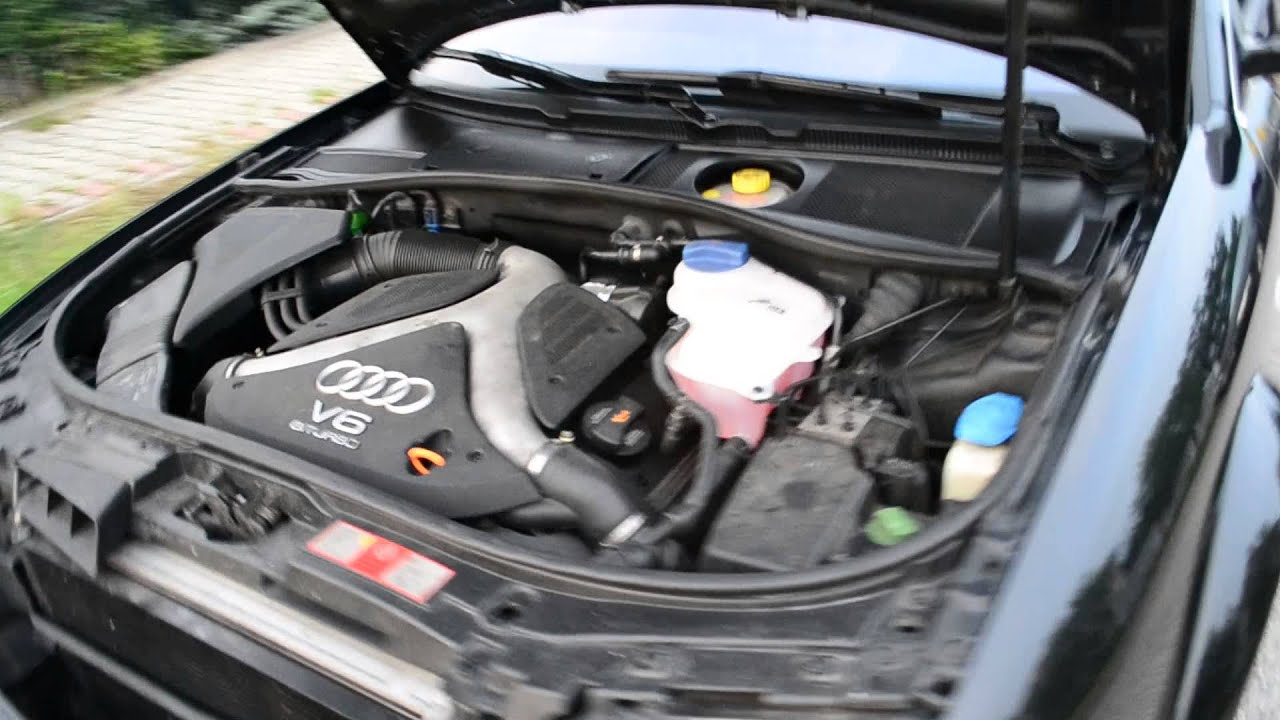 audi a6 quattro biturbo 2001 how to find cylinder