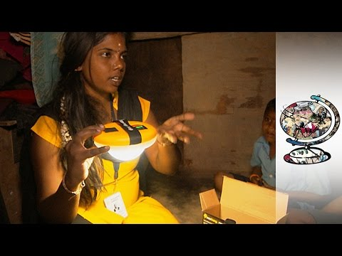 Small-Business Entrepreneurs Lighting Up India's Slums