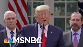 U.S. Reeling From Coronavirus Testing Shortage As Trump Says He Won't Take Any Responsibility