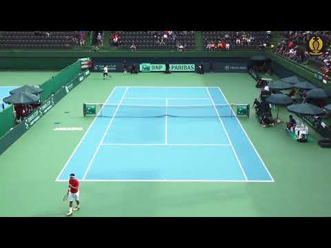Davis Cup 2018 G2R1: Anthony Susanto vs Otico