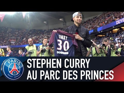 STEPHEN CURRY AU PARC DES PRINCES
