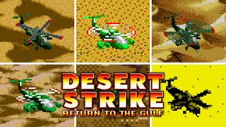 Desert Strike - Versions Comparison [HD 60 FPS]