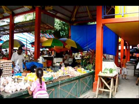 Seychelles Victoria  Market