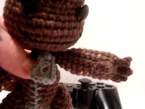 Nerdigurumi Amigurumi Crochet Little Big Planet Sackboy With