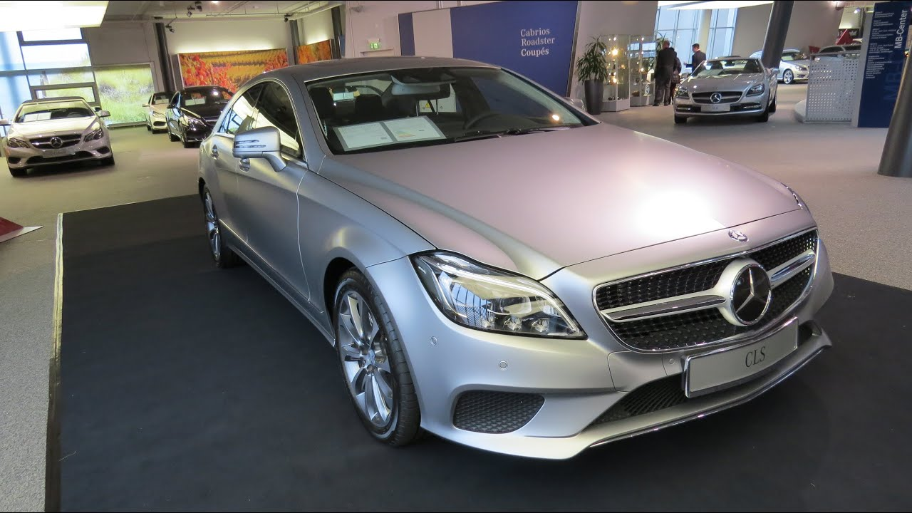 2015 Mercedes Benz CLS 350 BlueTEC 4Matic YouTube