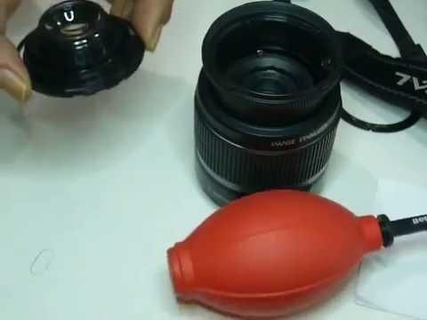 membersihkan lensa dalam canon 18 55mm