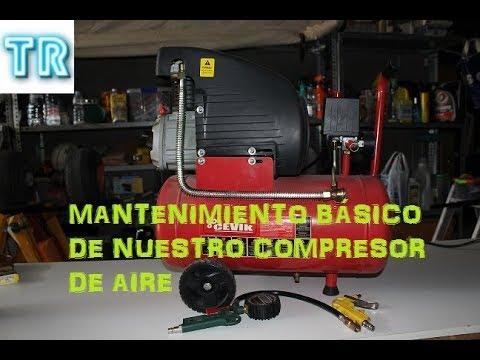 Mantenimiento Básico Compresor De Aire