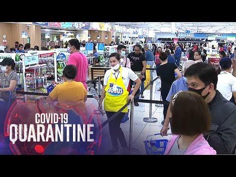 Supermarkets nagsagawa ng kani-kanilang social distancing | TV Patrol