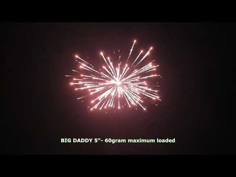 """Big Daddy 5"""" Canister Shells"""
