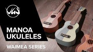 VGS Manoa Ukuleles Waimea Series
