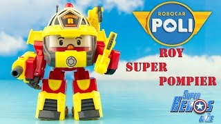 ROBOCAR POLI Action Pack Roy Super Pompier Robot Transformable 로보카폴리 Jouet Toy Review