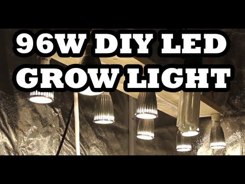 96w DIY LED Grow Light   How To Build It For $57   YouTube