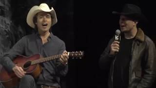 Elon Musk singing and dancing at SXSW 2018 streaming