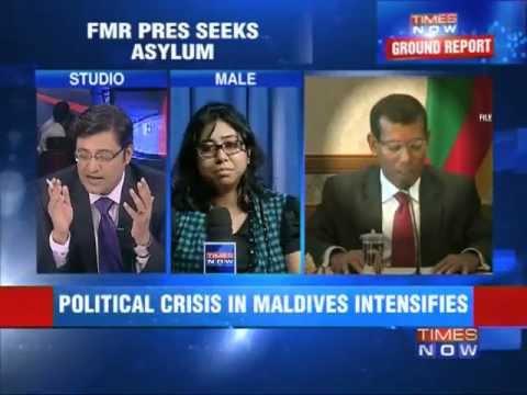 Political crisis in Maldives.