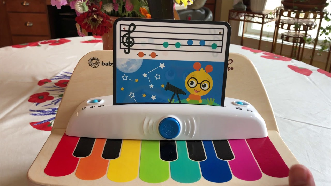 Baby Einstein Magic Touch Piano Wooden Musical Toy Review Youtube
