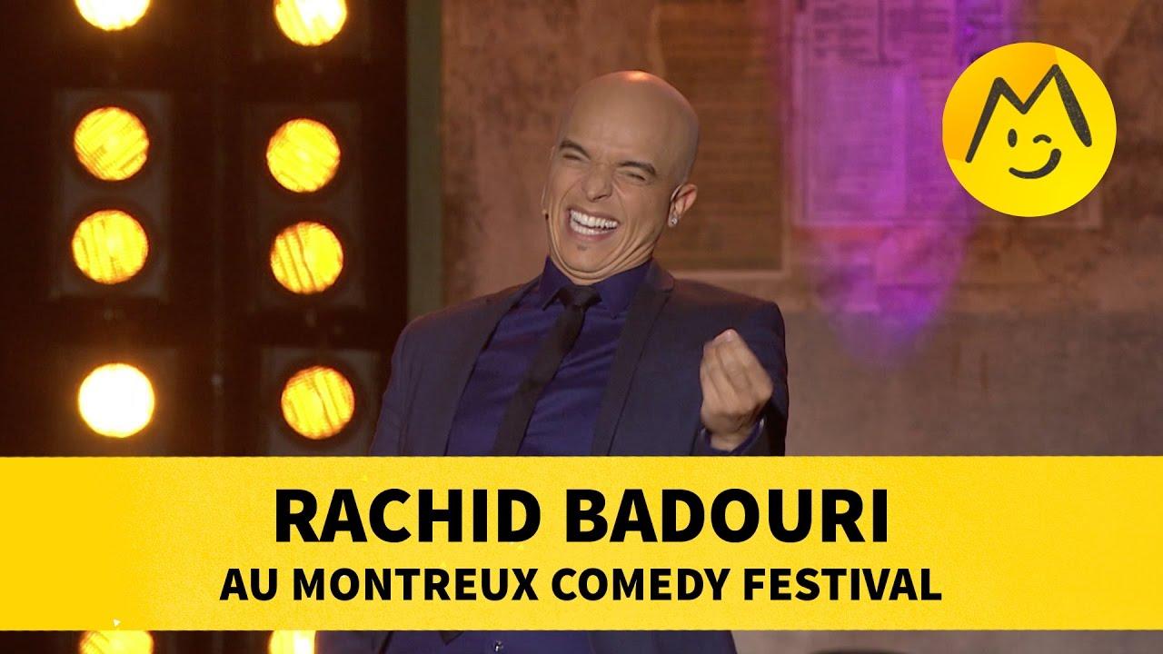 Rachid Badouri au Montreux Comedy Festival