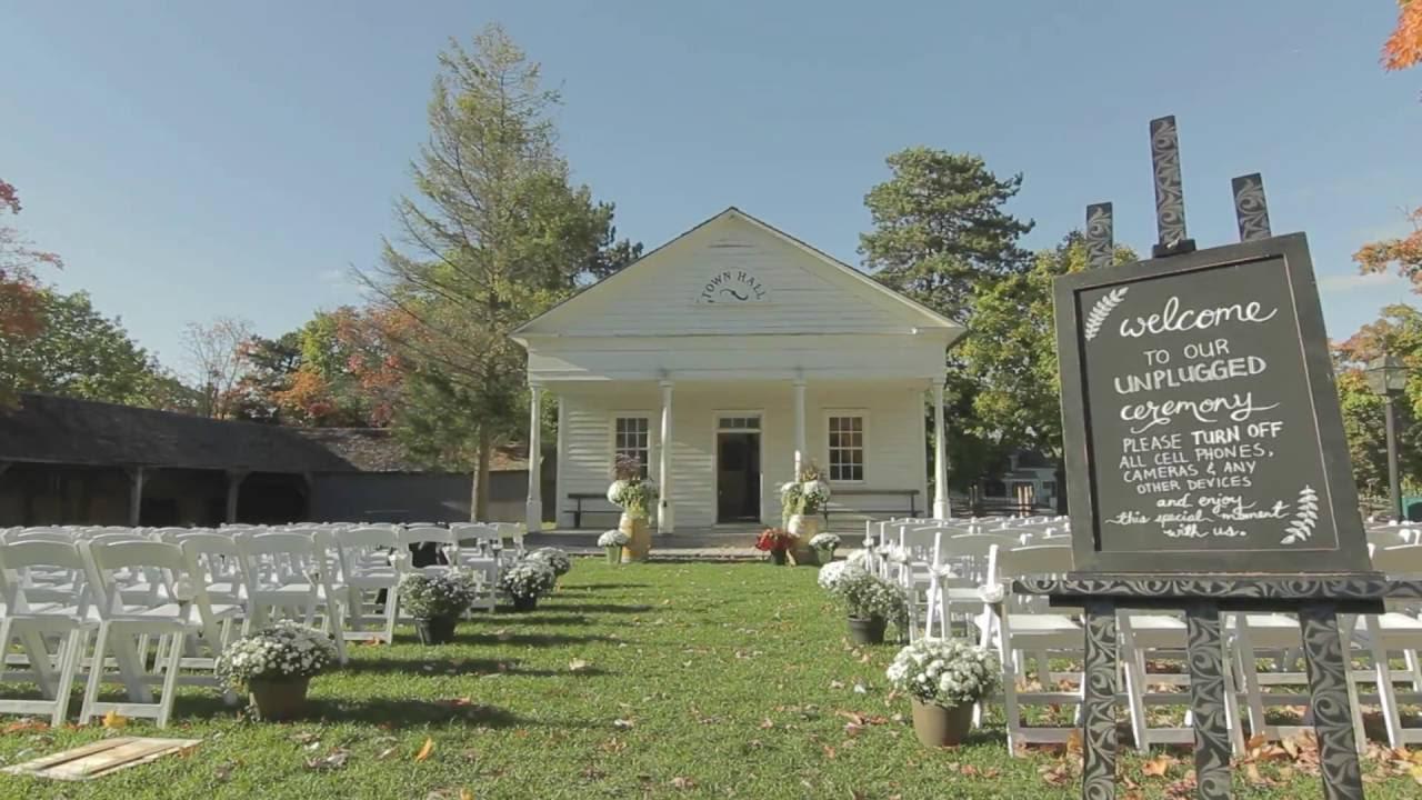 Black Creek Pioneer Village Wedding