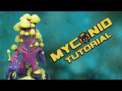 How to paint Myconid by Cartesian Creations - Kujo Painting [Tutorial]